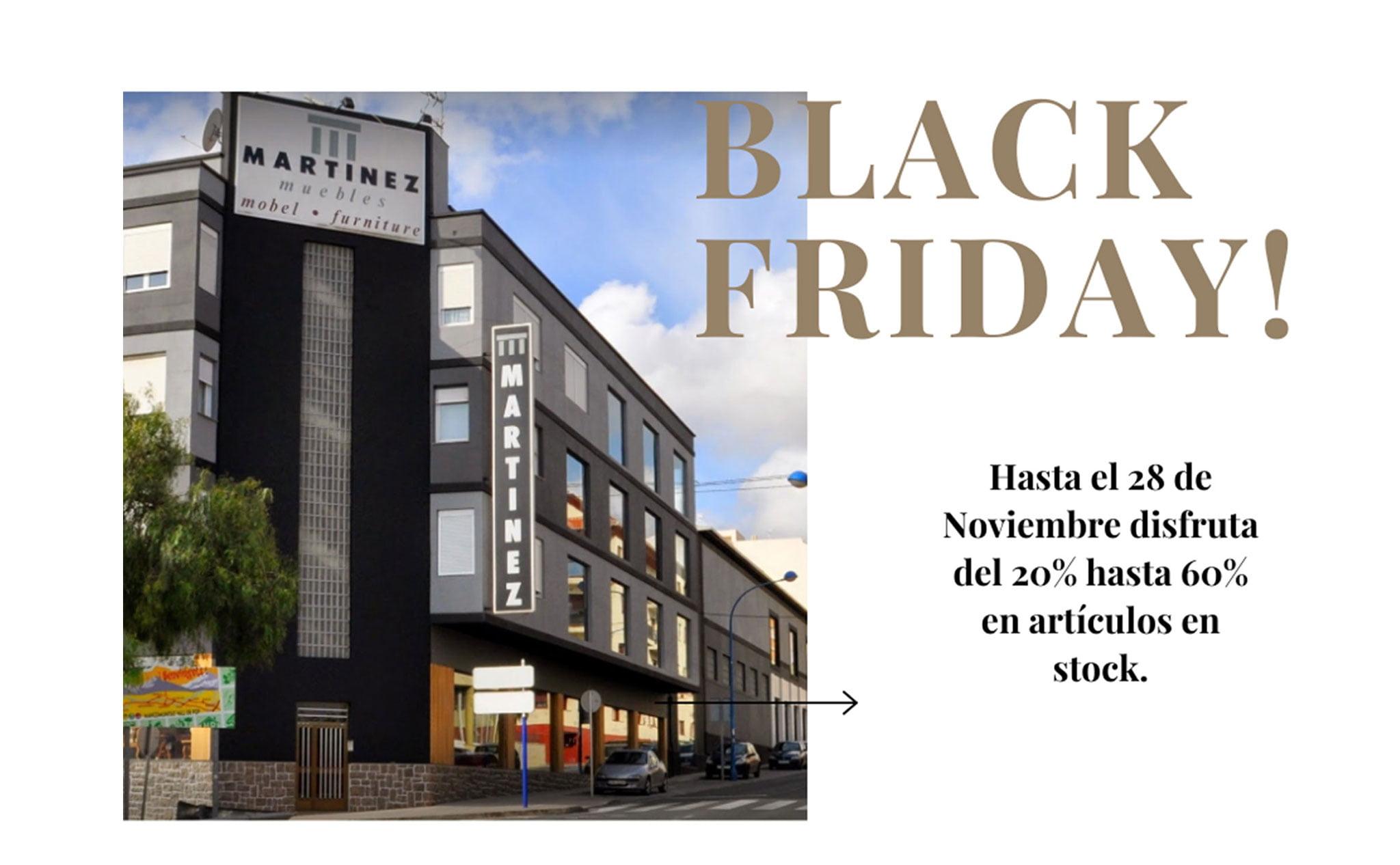 Black Friday – Muebles Martínez