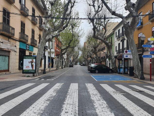 Изображение: улица Маркиза де Кампо де Дения