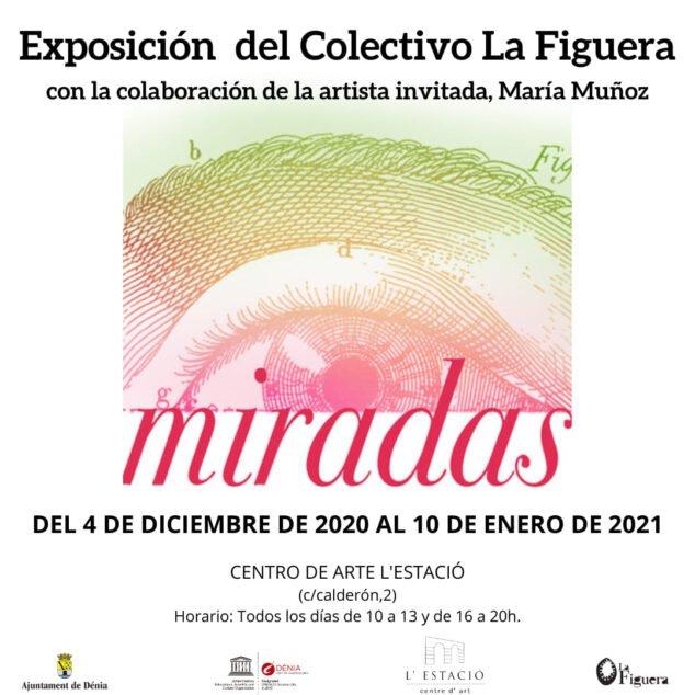 Image: Poster of the exhibition Miradas de La Figuera
