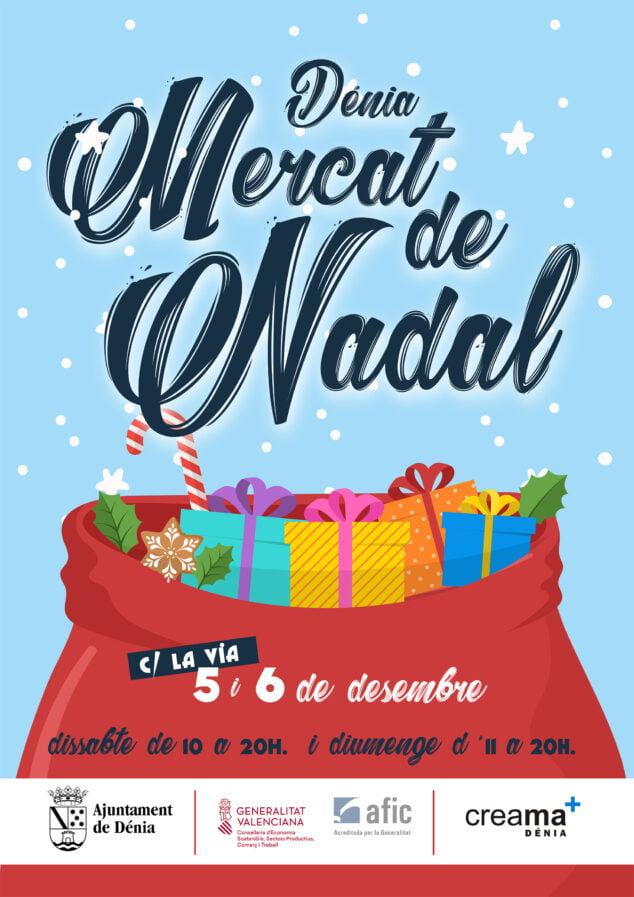 Imagen: Cartel del Mercat de Nadal 2020