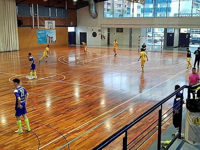 CFS Mar Dénia contra el Lamsauto Futsal Lleida