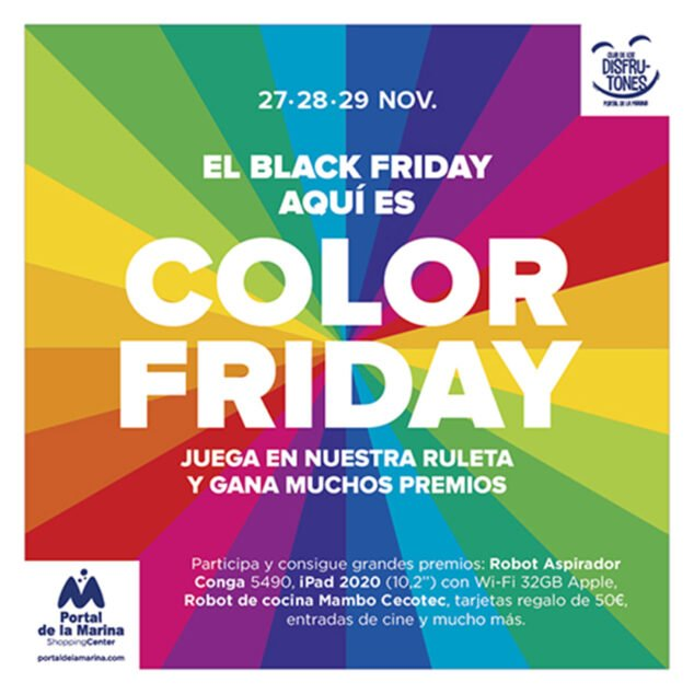 Imatge: Color Friday, el Black Friday diferent de Portal de la Marina