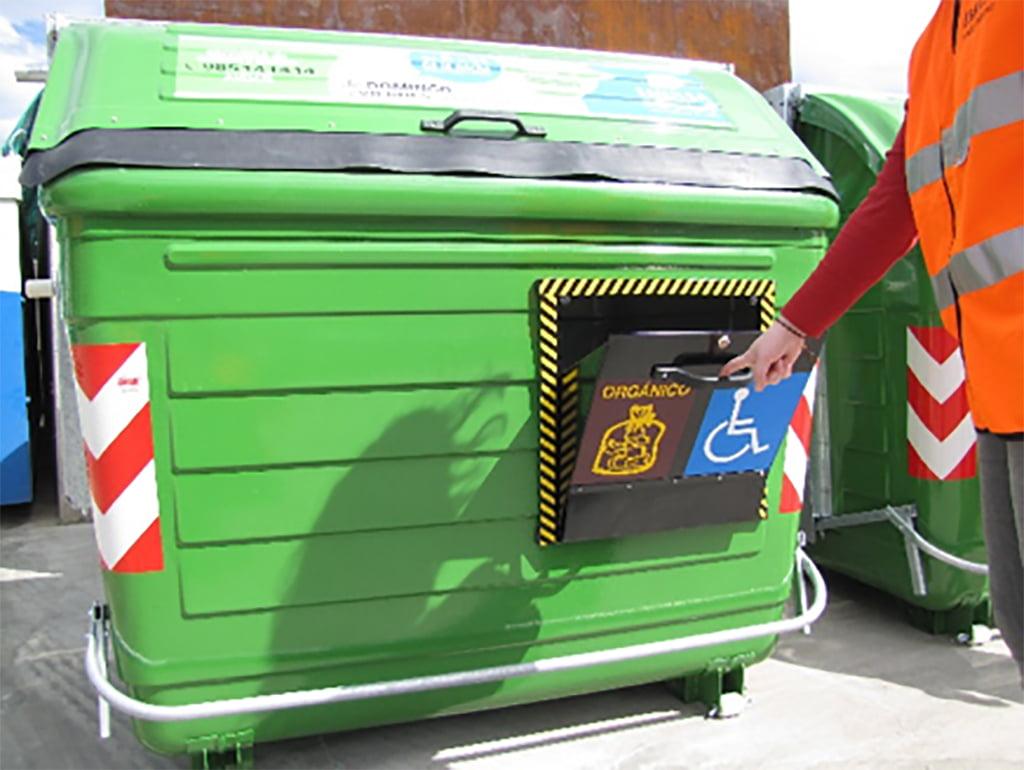 Container adaptado para pessoas com diversidade funcional