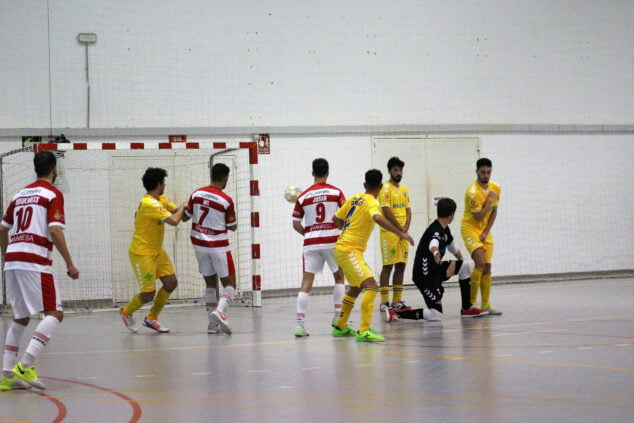 Image: Shot on goal by CFS Mar Dénia