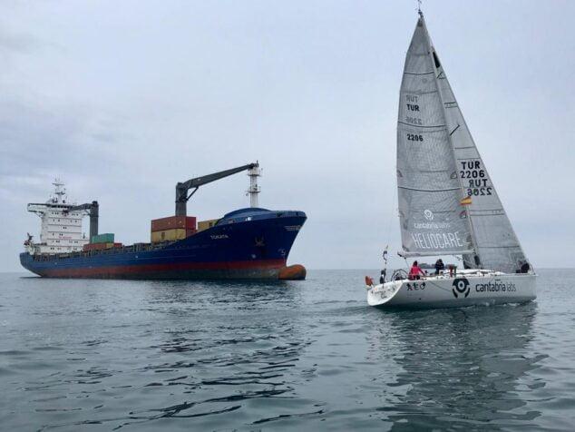 Imagen: Embarcación de vela de Marina El Portet