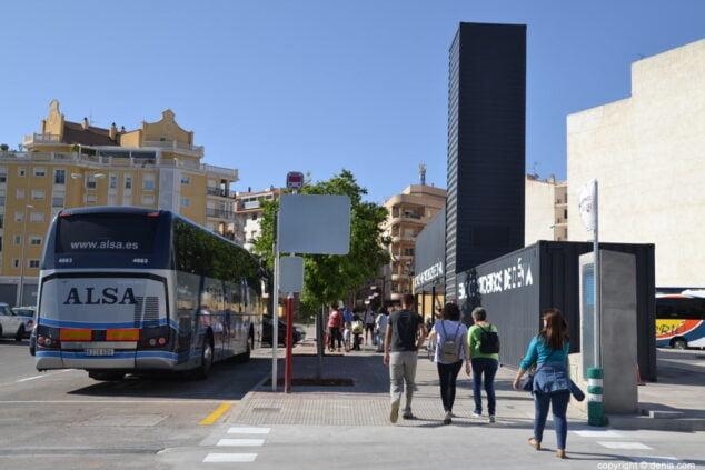 Image: Dénia bus station