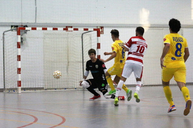 Image: Manresa goal against an attack by the Dianenses