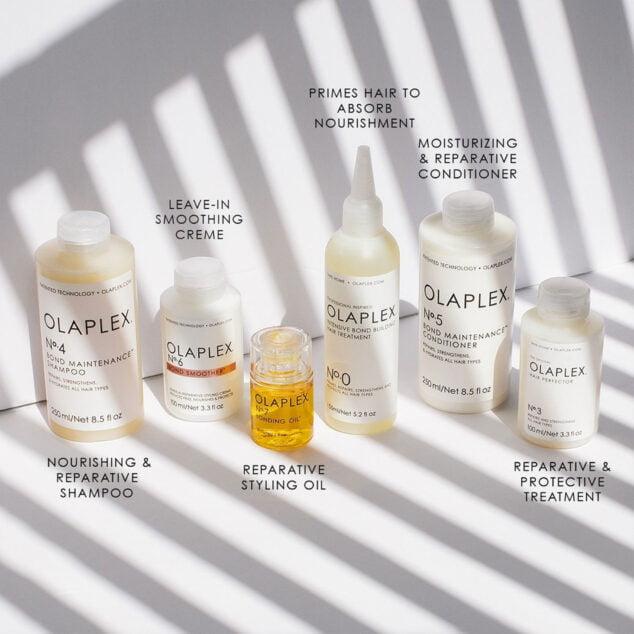 Imagen: Productos Olaplex en Dénia - The Reference Studio