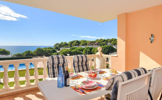 Image: Terrace of a holiday apartment for four people in Moraira - Aguila Rent a Villa