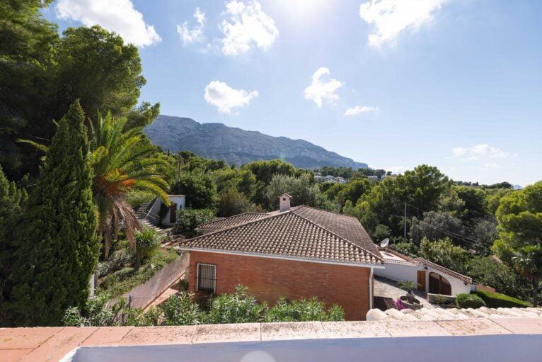 Vistas de una casa de vacaciones para siete personas en Dénia - Aguila Rent a Villa