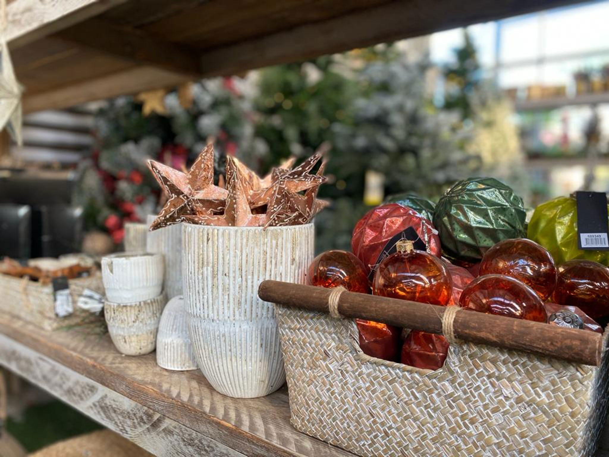 Adornos navideños en Dénia – Natura Garden