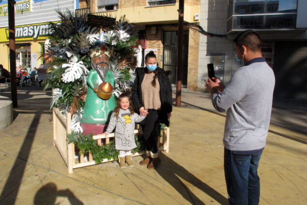 Imagen: Ninot navideño en Archiduque Carlos