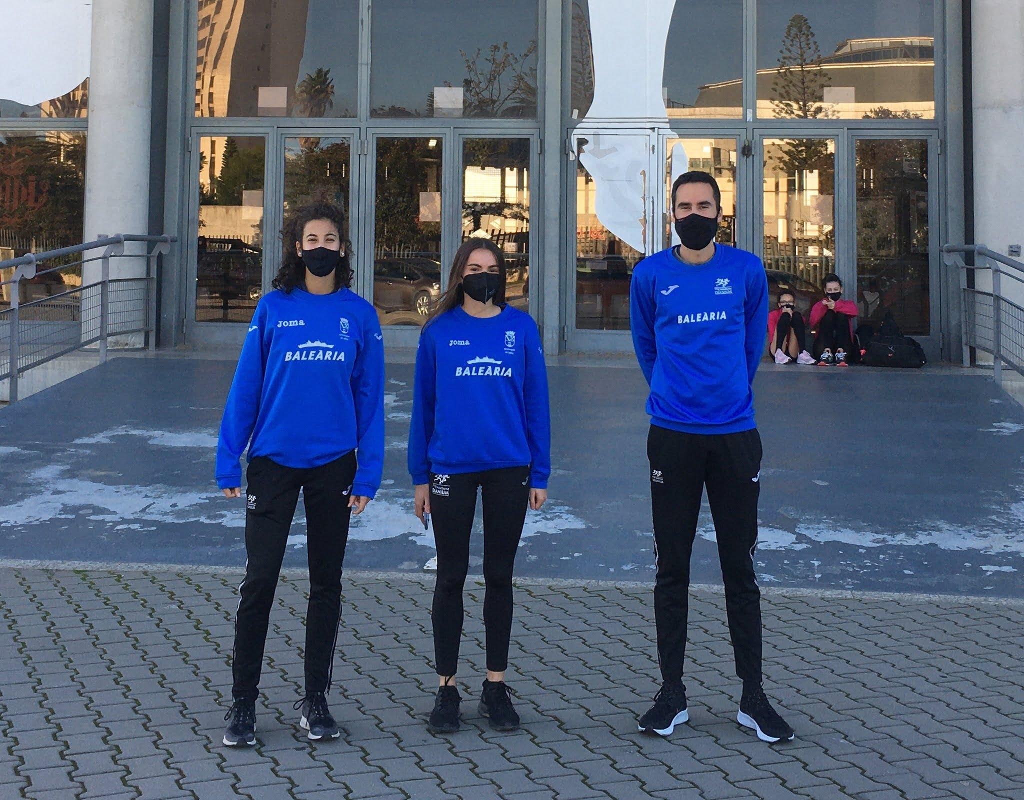 Atletas del CA Baleària Dianium seleccionadas para las concentraciones de la FACV