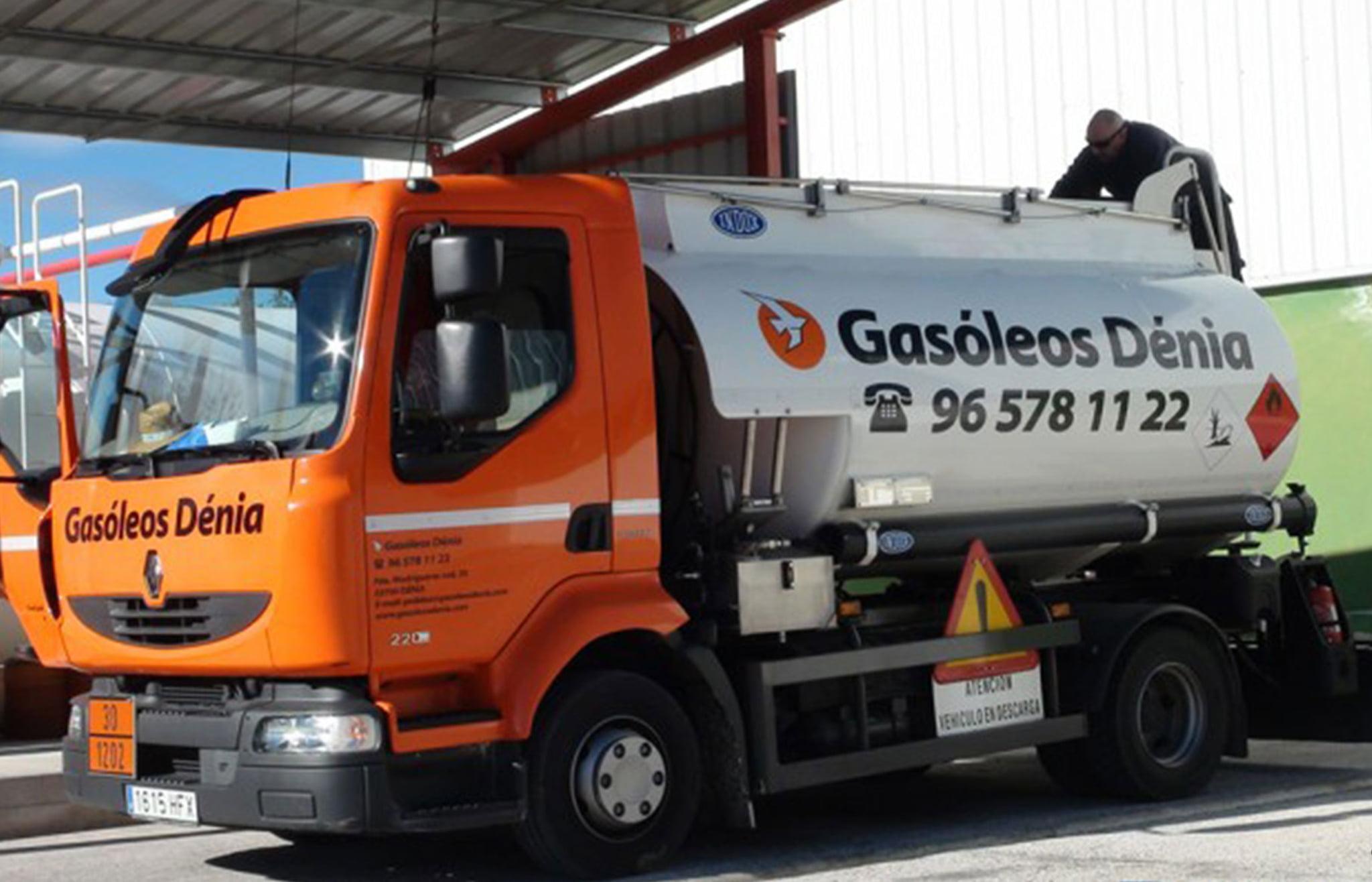 Camió de Gasoils Dénia