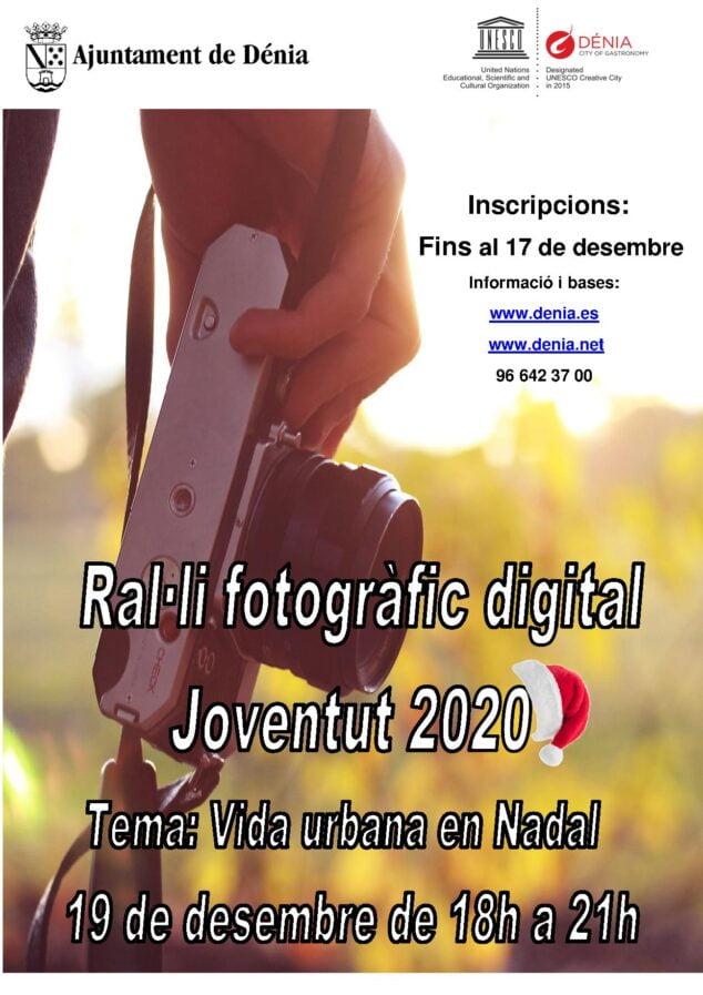Imagen: Cartel del Rally fotográfico de Juventud 2020