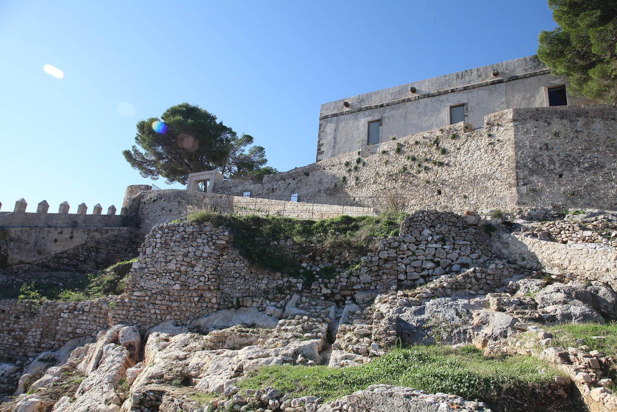 Das Schloss von Verger Alt