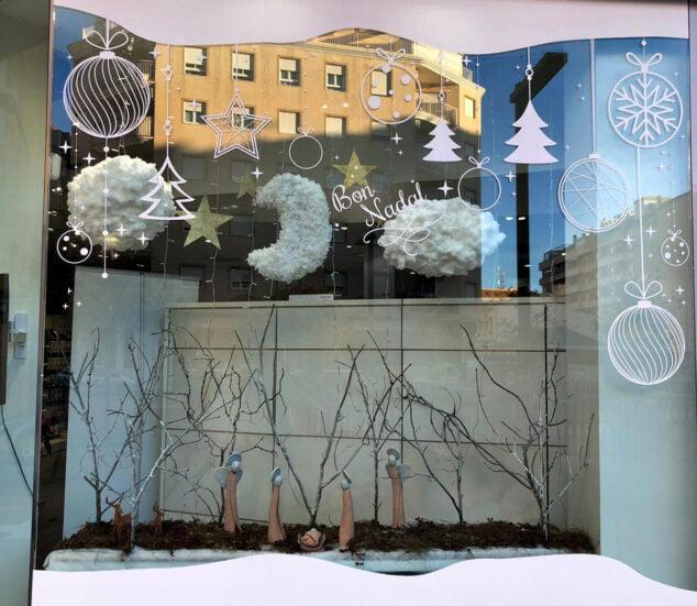Imagen: Escaparate ganador del concurso de decoración de Navidad 2020