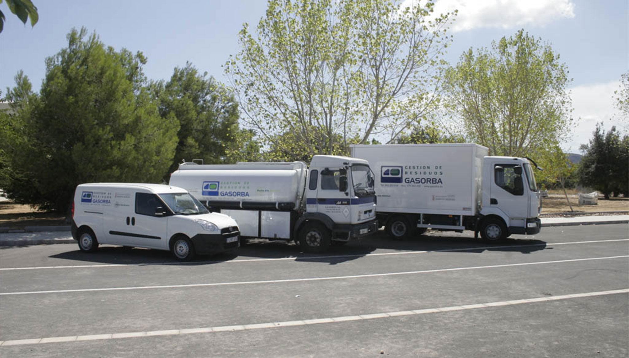 Vehicles de gestió de residus - Gasorba