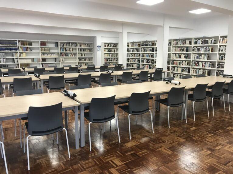 Interior of the Rafael Chirbes Reading Agency