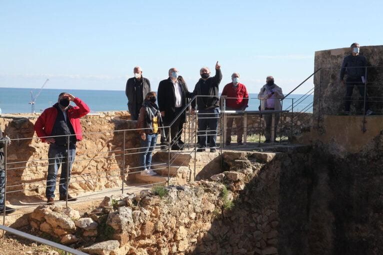 Josep Antoni Gisbert erzählt der Öffentlichkeit die Geschichte des wiederentdeckten Verger Alt