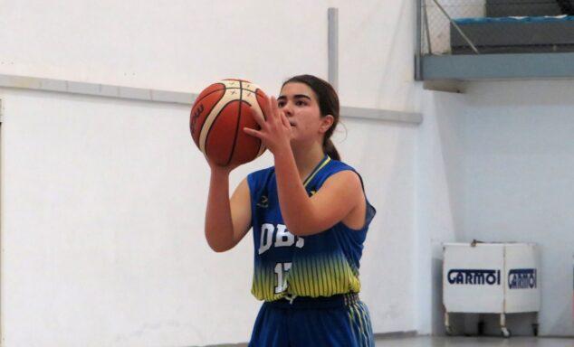 Imagen: Jugadora Cadete femenino que jugó contra Paidos