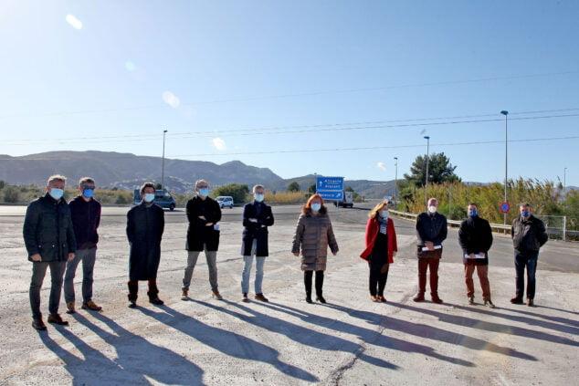 Image: Les conseils municipaux de la Marina Alta célèbrent la première année sans autoroute