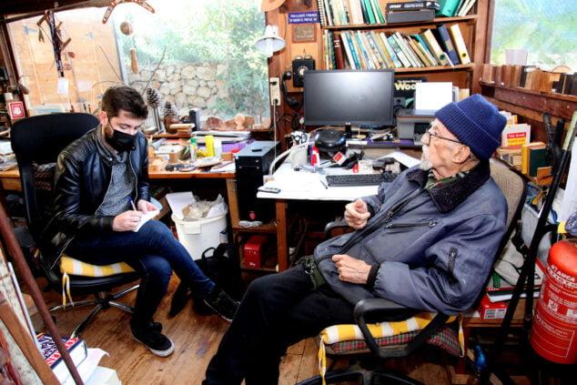 Imagen: Manuel Soler recuerda sus tiempos navegando