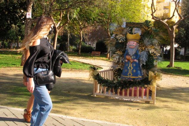 Imagen: Rey Mago en el Parque Chabás