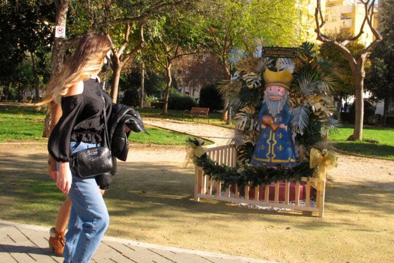 Rey Mago en el Parque Chabás