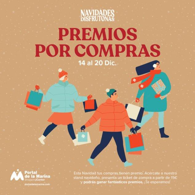 Imagen: Premios por compras - Portal de la Marina