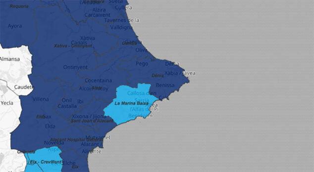 Image: Situation du coronavirus par département