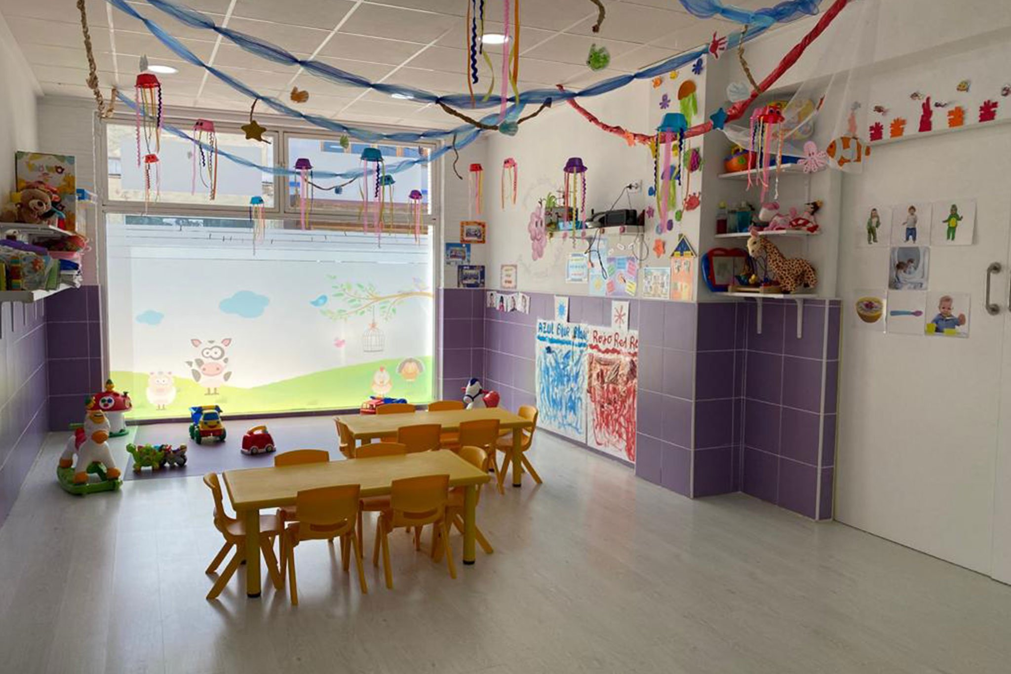 Classroom in a nursery school in Dénia - Bombonets