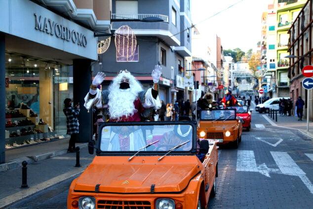 Imagen: Cabalgata sorpresa de los Reyes Magos en Dénia