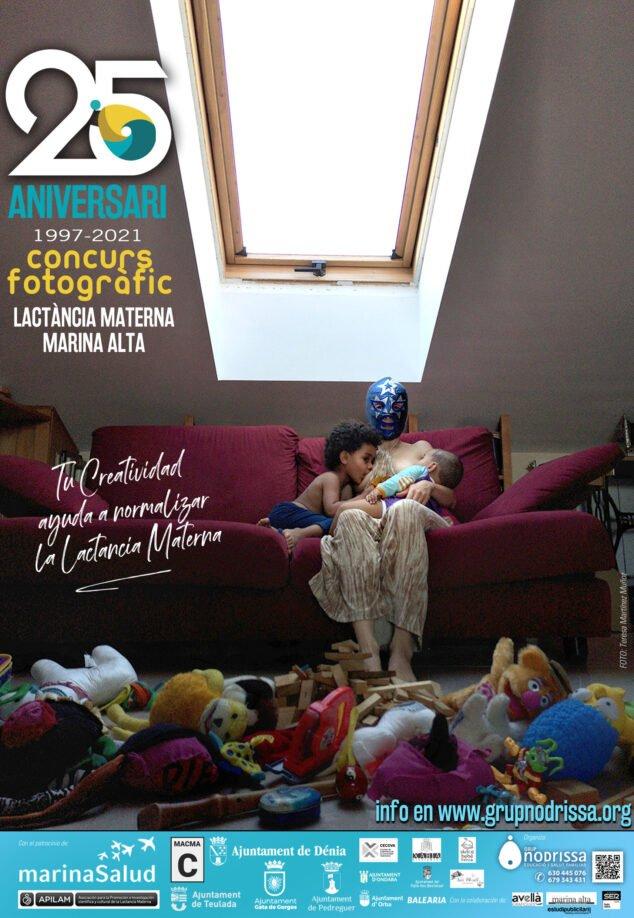 Image: Affiche pour le concours photographique allaitement 2021