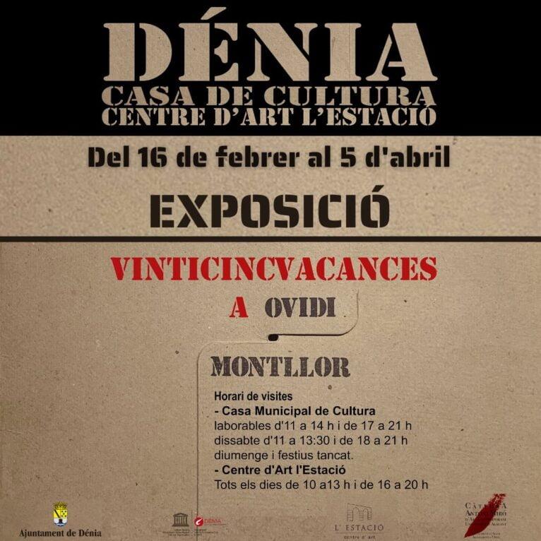 Ovidi Montllor exhibition poster