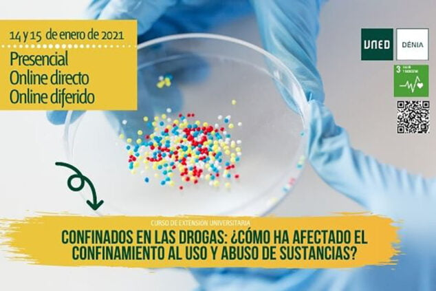 Image: Poster of the Confined in Drugs course