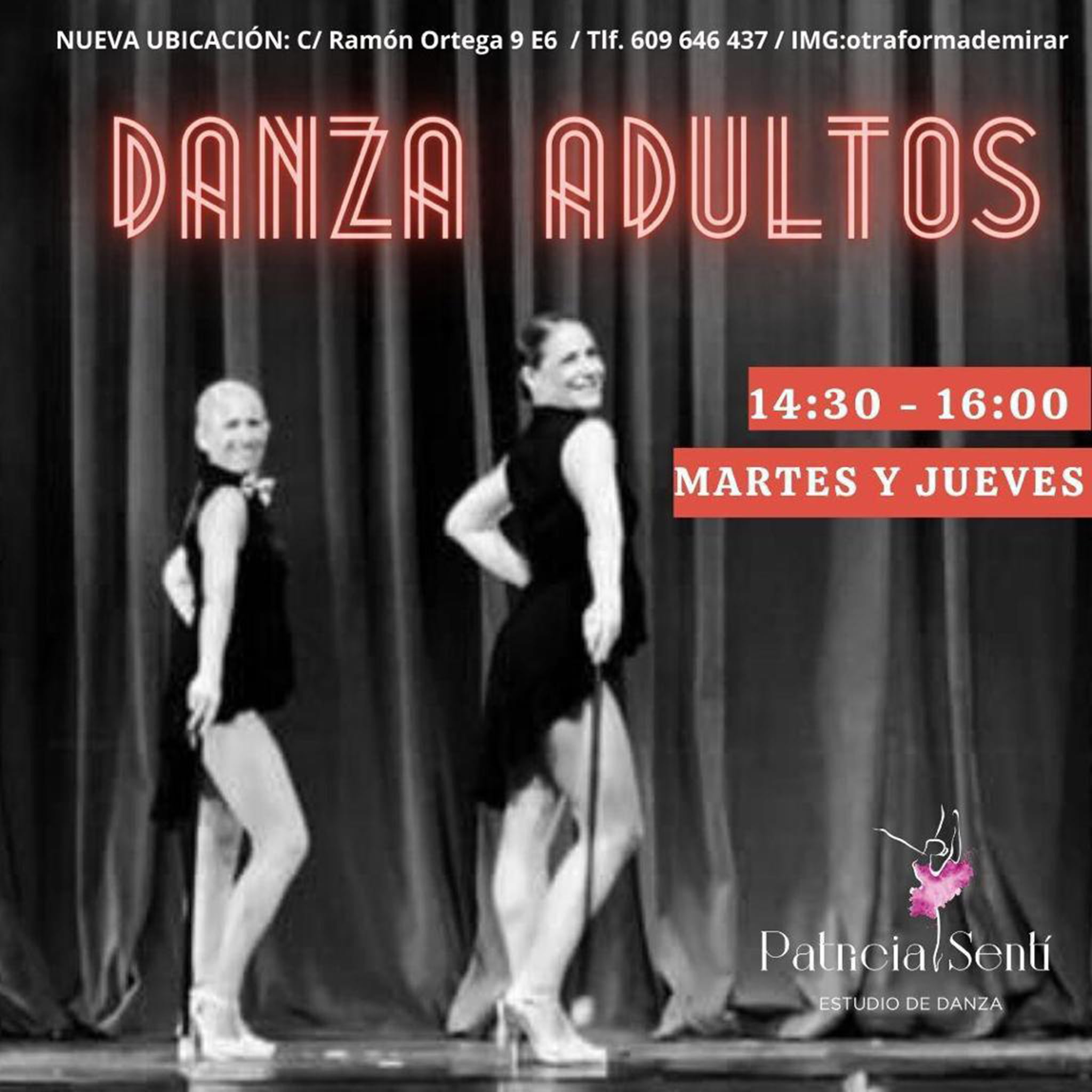 Dance for adults in Dénia - Patricia Sentí Dance Studio