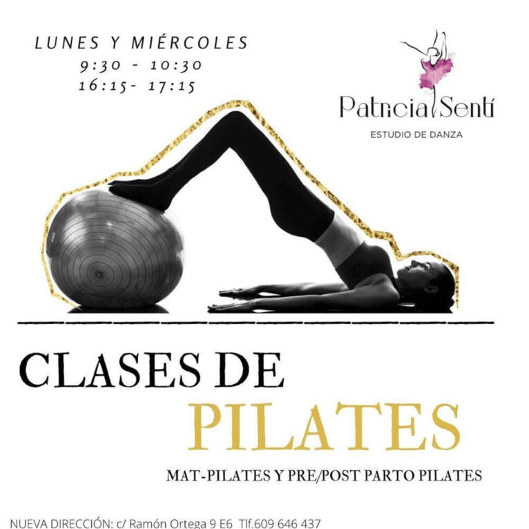 Pilates classes in Dénia - Patricia Sentí Dance Studio
