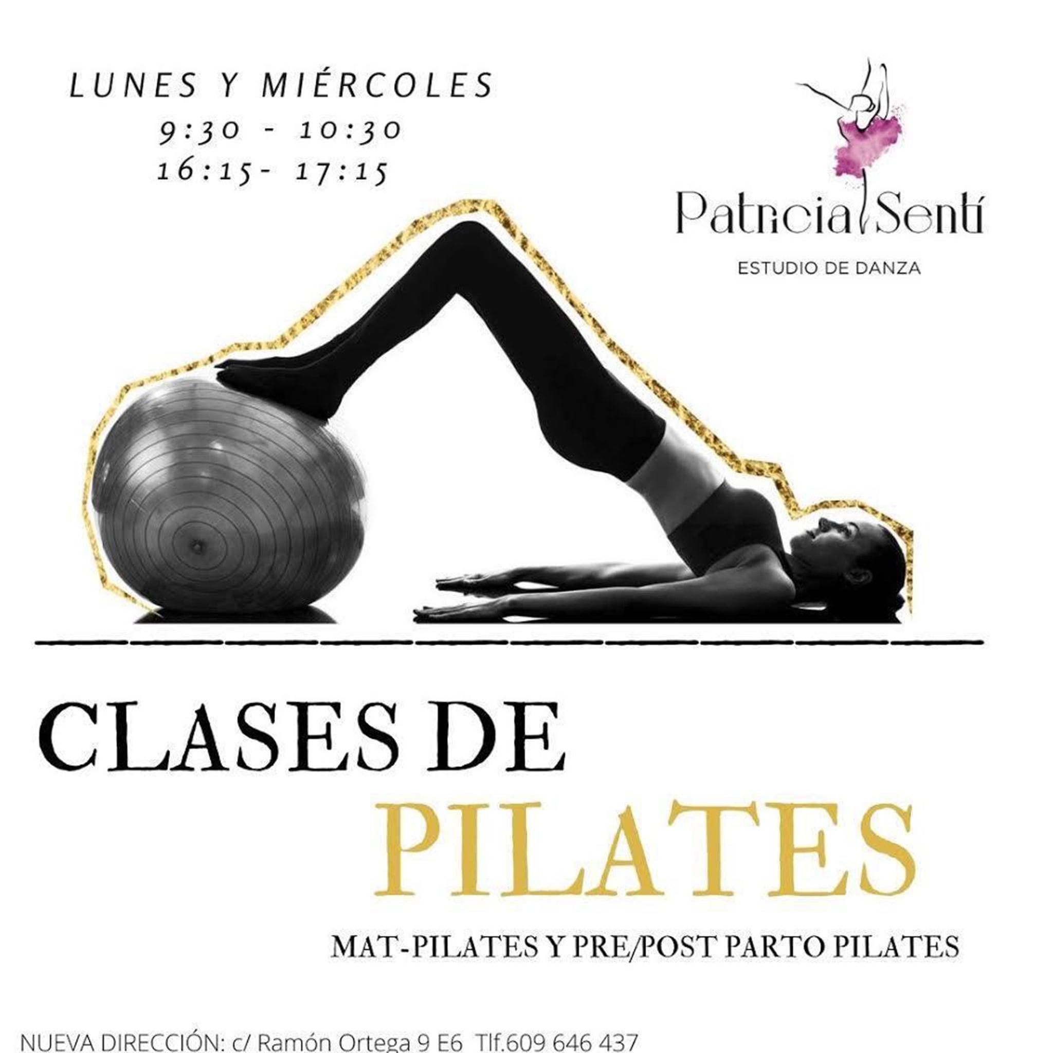 Cours de Pilates à Dénia - Patricia Sentí Dance Studio