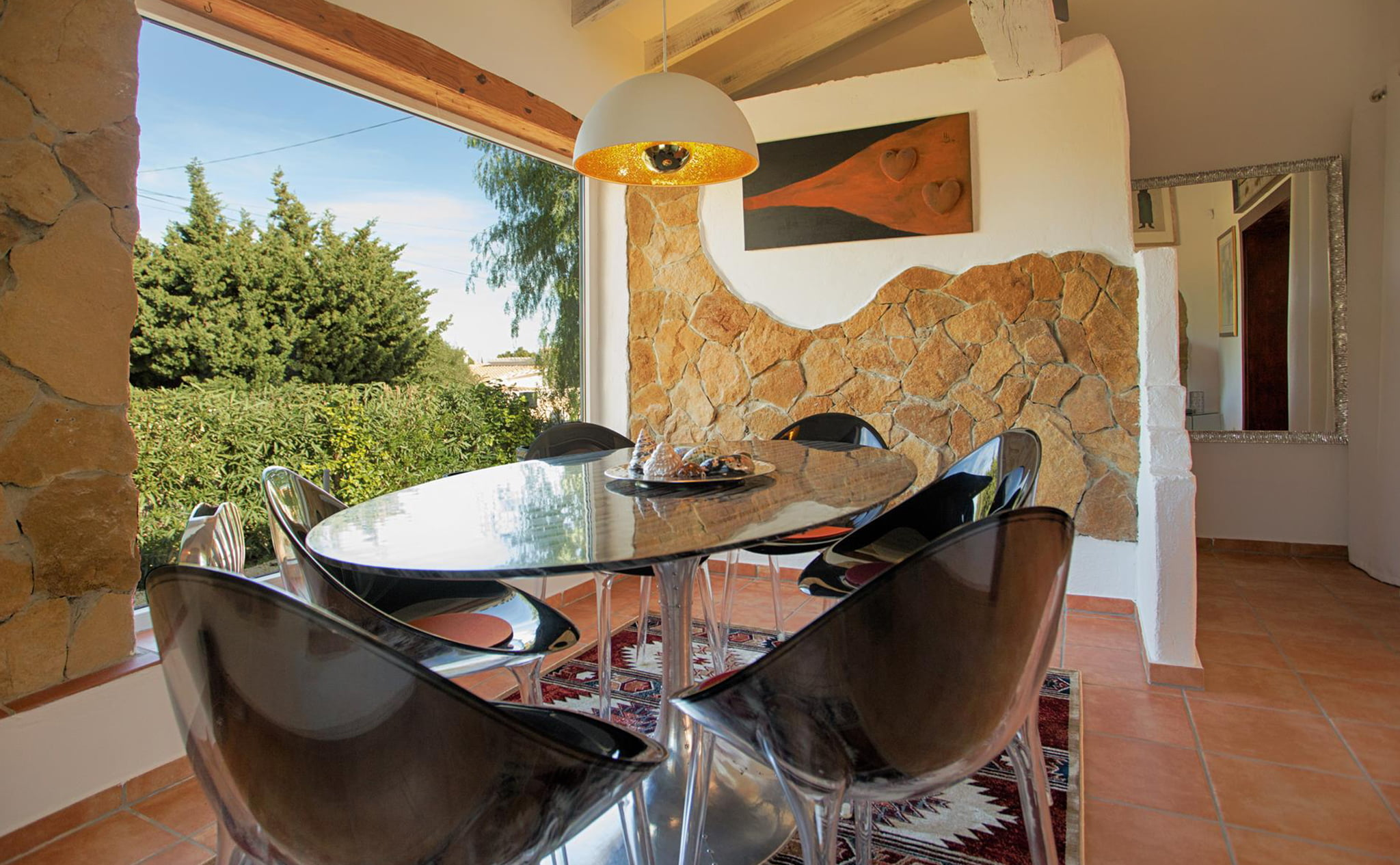 Dining room in a luxury vacation home in Dénia - Quality Rent a Villa