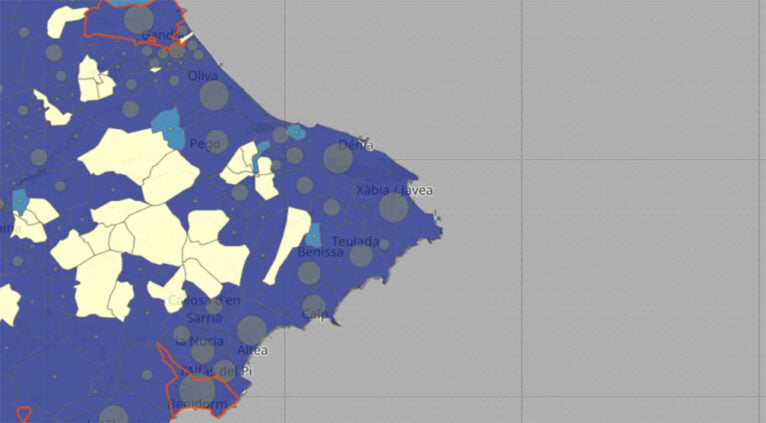 Coronavirus by municipality in the update of January 26