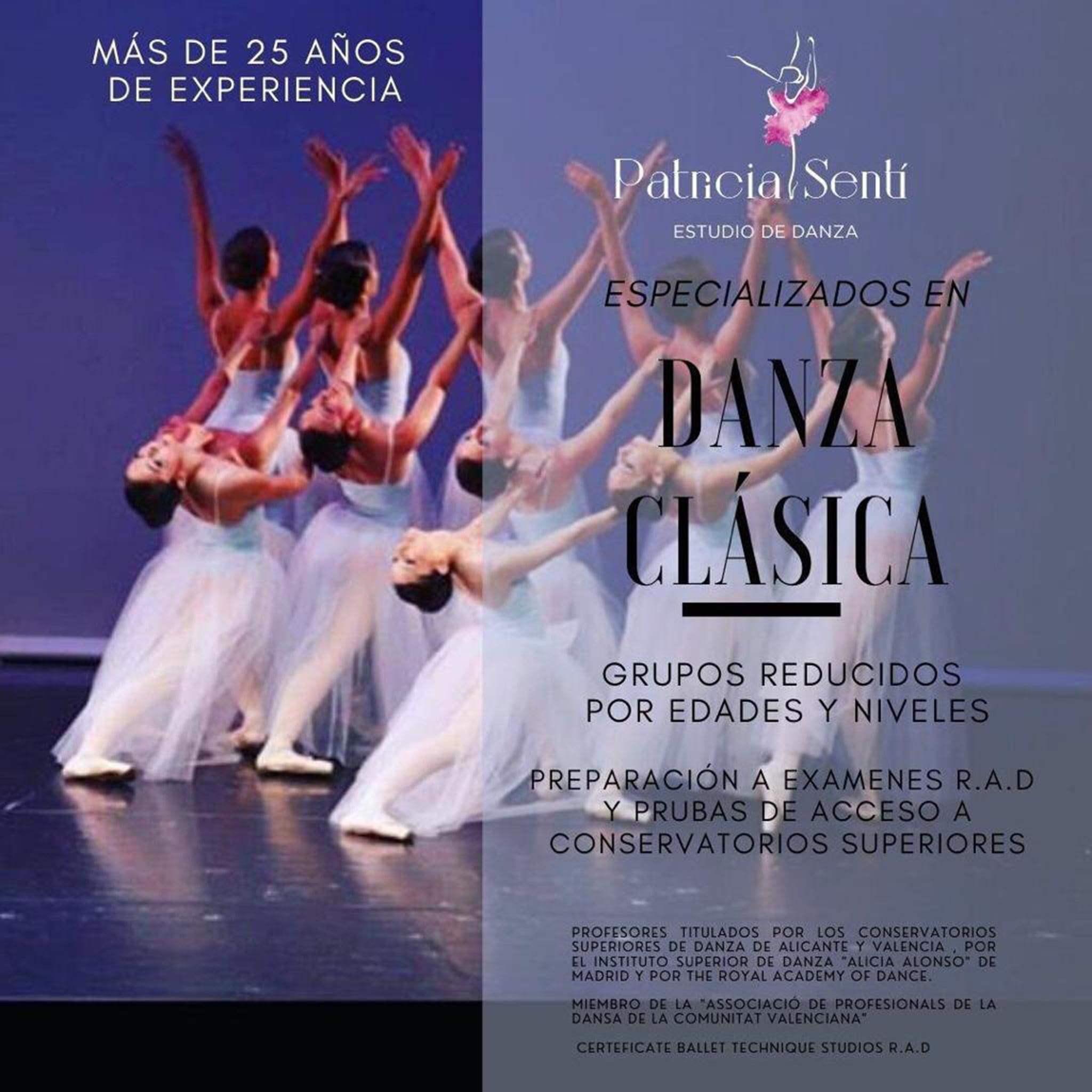 Danse danse classique à Dénia - Patricia Sentí Dance Studio