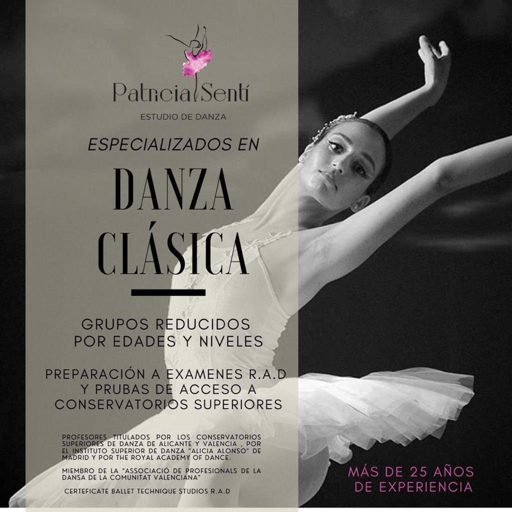 Cours de danse classique à Dénia - Patricia Sentí Dance Studio