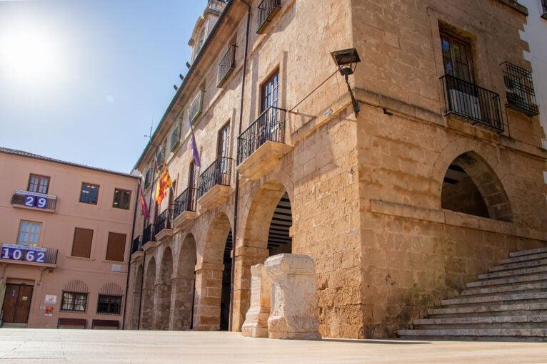 Facade of the Dianense town hall