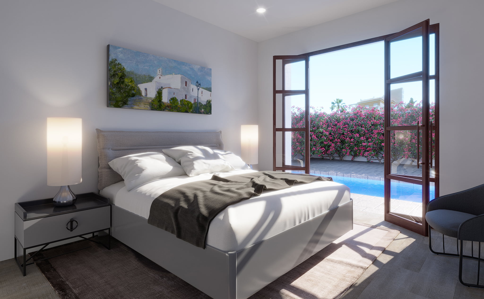 Room of a villa for sale in Las Marinas in Dénia - Lucas Graf Projects