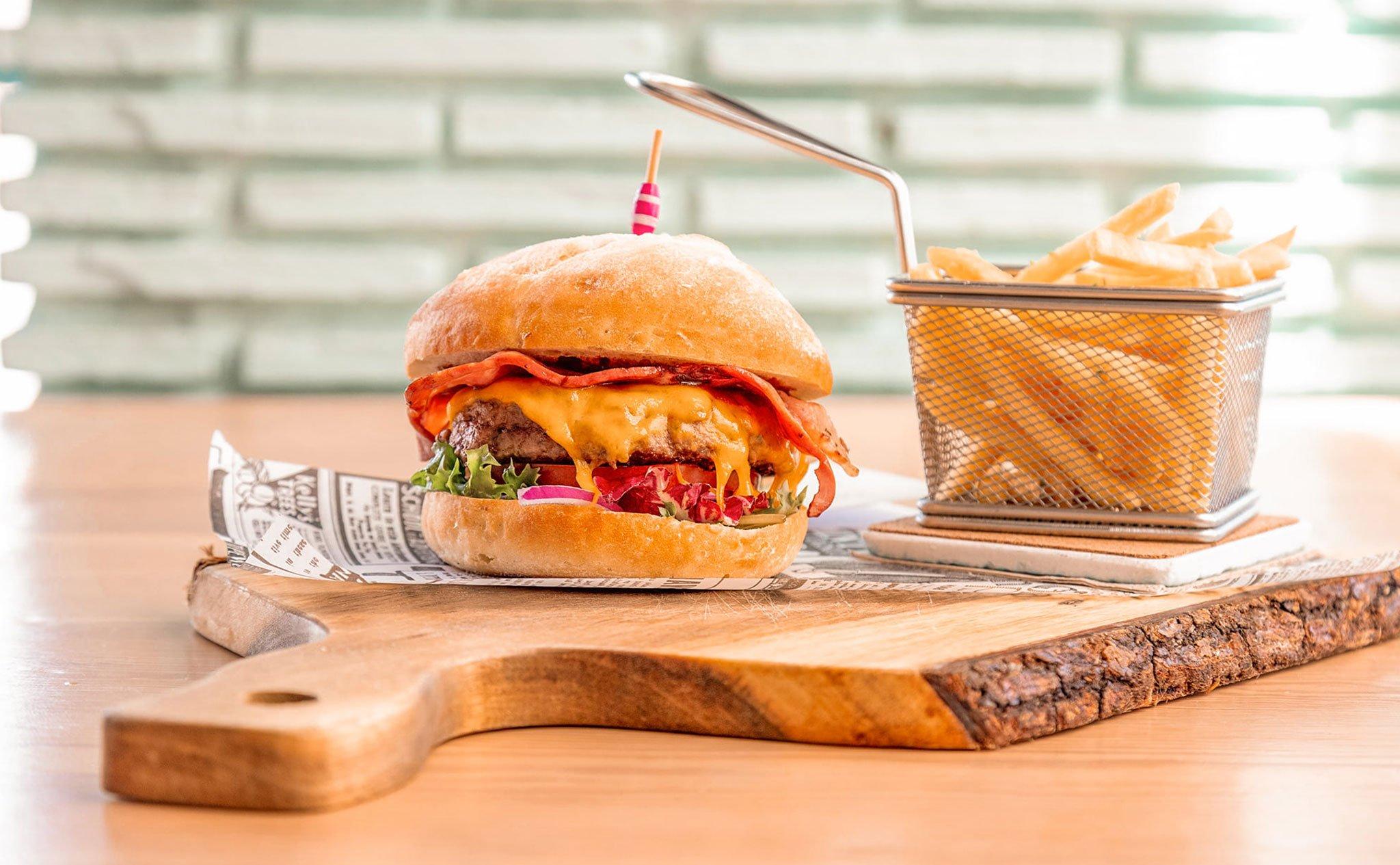 Burgers à emporter ou avec livraison à domicile à Jávea - Restaurant Ammos