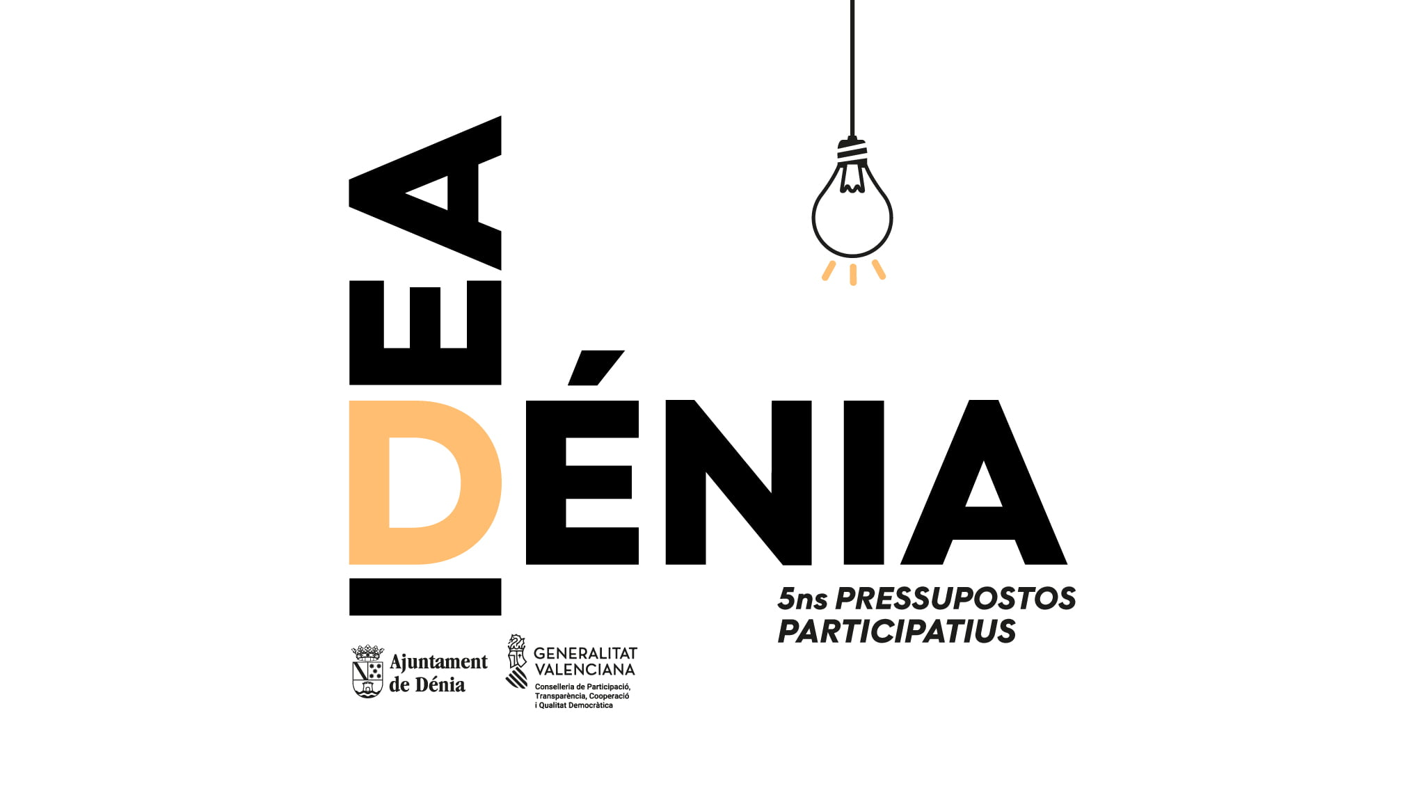 Image of the campaign of the 5th Participatory Budgets of Dénia