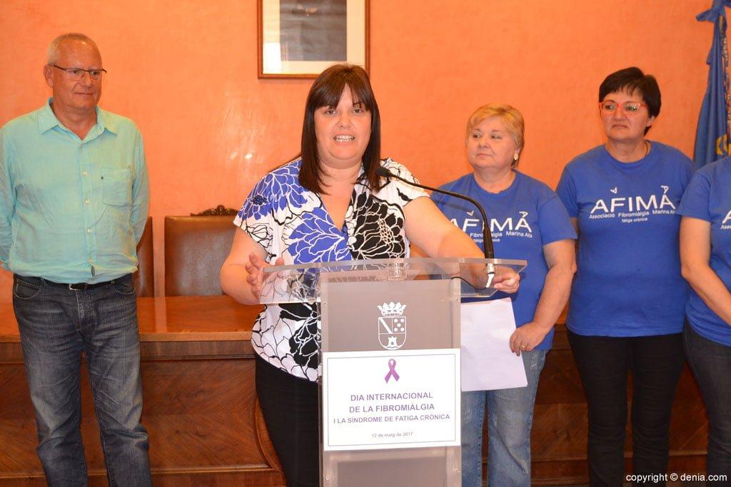 Morera's intervention during Fibromyalgia Day 2017
