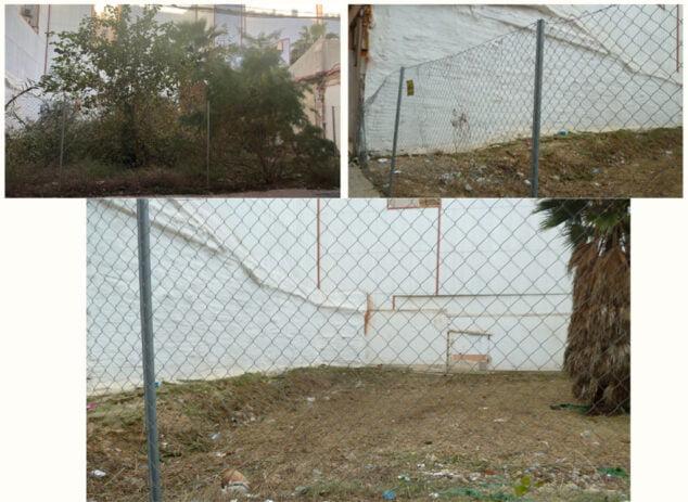 Image: Nettoyage dans la rue Mestre Serrano