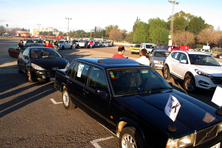 Démonstration de voitures à Dénia de la Hostelería 08